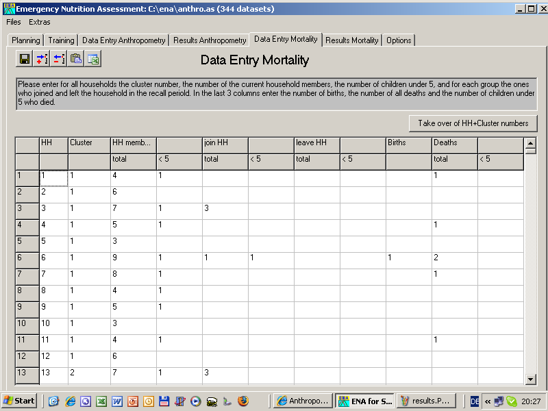 Anthropometric Survey